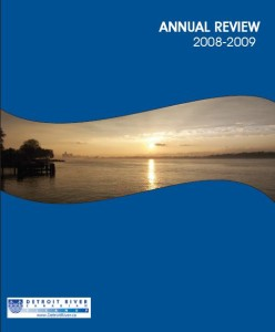 DRCC Annual Review 2008-2009 Cover