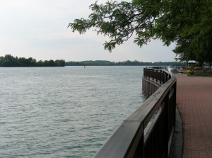 The Lower Detroit River IBA at King's Navy Yard in Amherstberg. Credit: Amanda Bichel