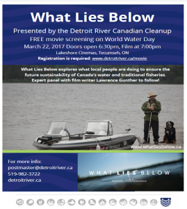 DRCC Presents What Lies Below