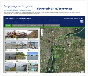 Detroit River Story Map 2018