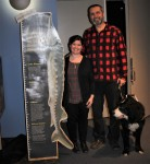 Claire Lawrence and Moby Sturgeon